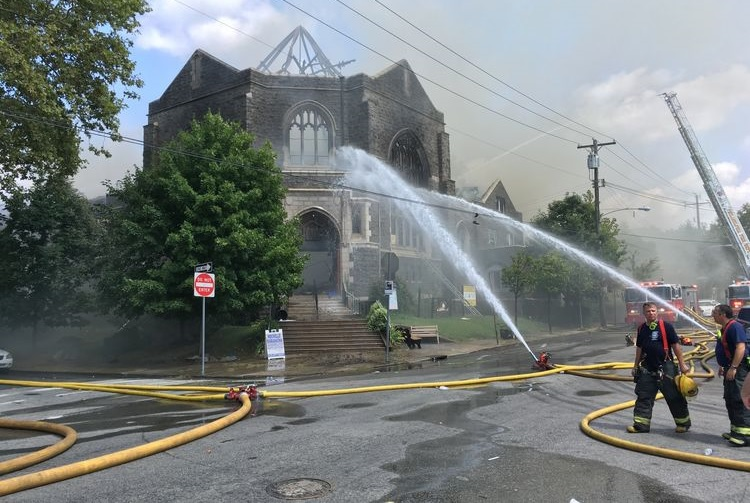 aftermath-of-church-fire