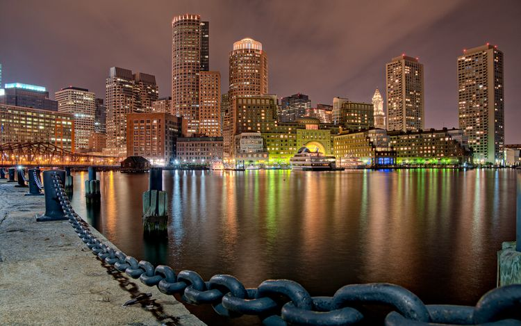 boston-harbor-night