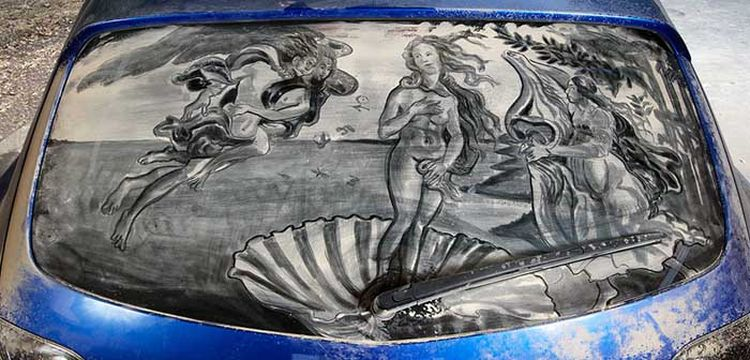 dustycarart-scott-wade-boticelli-birth-of-venus-1lg
