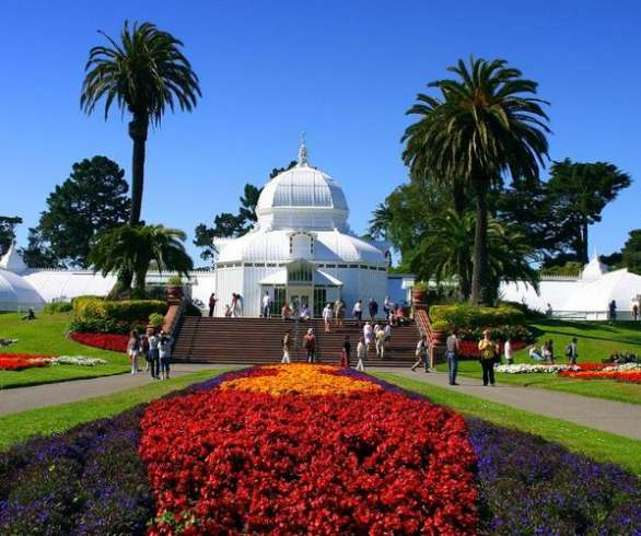 flower-garden-golden-gate-park