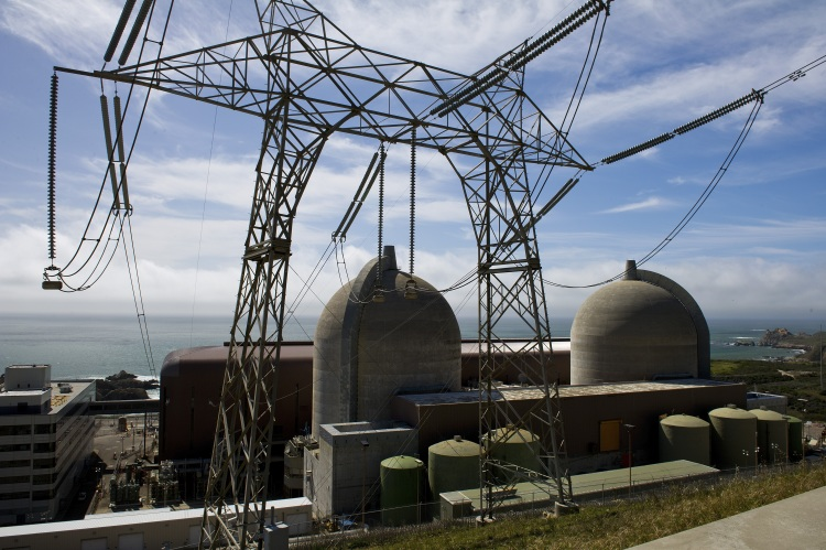 General Views Of The PG&E's Diablo Canyon Nuclear Plant