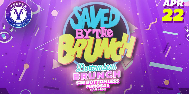 Saved By The Brunch at Vesper Sporting Club 90's Theme Brunch Party